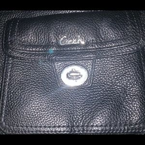 Coach Crossbody Leather Bag- Used only ONCE !
